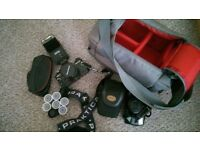 Praktica SLR and Pentax film cameras