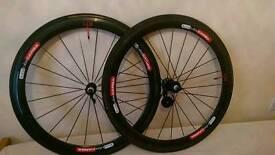 50mm Carbon fibre tumblur wheelset