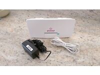 Plusnet router and cables