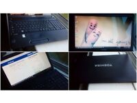 CAN DELIVER very good condition fast laptop Toshiba with warranty, Win 10, MS Office, Antivirus