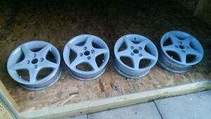 "Suzuki Mag Wheels / Rims 14"" / 4-bolt pattern"