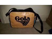 Genuine Retro Gola bag.