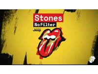 Rolling Stones Premium Front Pit Tickets Coventry 2nd June