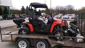 Reduced price!!! 2011 arctic cat 4x4 prowler. Trade or cash.