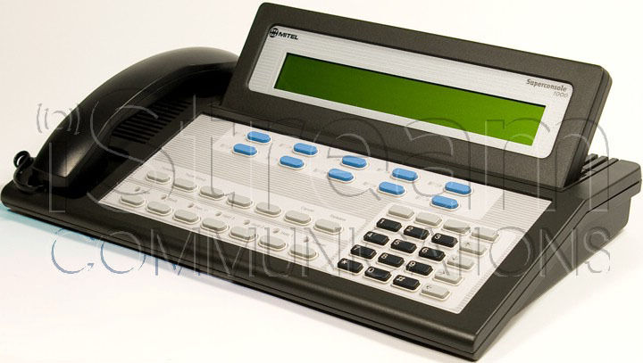 Get a loaner Mitel Superconsole 1000 and have your console repaired/refurbished.