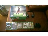 XBOX ONE WITH PAD, HEADSET AND 6 GAMES