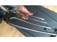 Heavy Duty Top Quality Stainless Steel Garden Digging Fork - The Somerset Collection