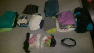 Size 14-16 girls clothes over 35+ pieces Strathcona County Edmonton Area image 1