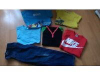 Bundle of boys clothes. All size 7-8! Includes Next jeans, nike top etc. £5 for the lot!