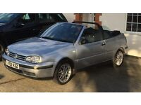 2002 VW GOLF MK3.5 Cabrio. FSH. MOT. 78k. FUTURE CLASSIC. Big Discount