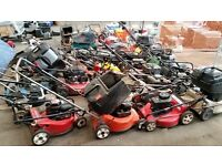 Wanted petrol lawnmowers ..none working etc hounslow