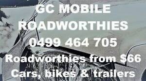 Mobile Roadworthy from $66