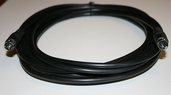 Teac Micro System 9 Pin Subwoofer Cable 6 Ft Black Color