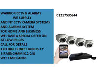 cctv security kit system camera phone view