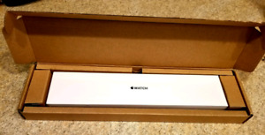Apple iWatch Series 1, 38mm, silver aluminum case with white spo