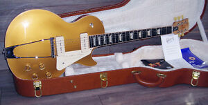 2013 Gibson Les Paul '52 Reissue Bullion Gold
