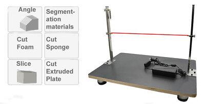 Wire Foam Cutter Foam Cutting Table Foam Slitting Machine 110v New Arrival Llc