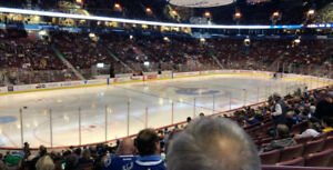 Vancouver Canucks vs. Chicago Blackhawks - Oct 31/ Lower Bowl