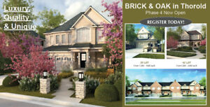 Luxury Freehold Towns and Detached Homes in Thorold