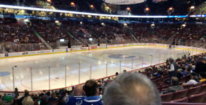 Canucks vs LA Kings - Lower Bowl - March 28