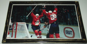 Team Canada action - 2 diff. - M.Lemieux & W.Gretzky + C. Price