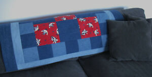 Denim & Flannel Cow Quilt Prince George British Columbia image 2