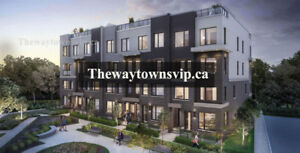 THE WAY URBAN TOWNS IN MISSISSAUGA - VIP REGISTER NOW!