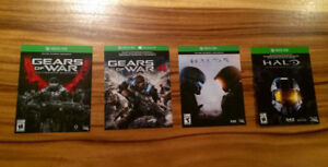 xbox one jeux games
