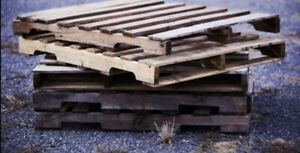 Will pick up old pallets and or Lumber