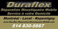 Réparation Moustiquaire Service Mobile Montréal Laval Repentigny