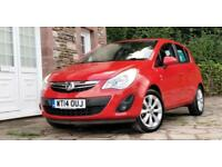 Vauxhall/Opel Corsa 1.2i 16v VVT ( 85ps ) ( a/c ) 2014 Excite * 12 month mot