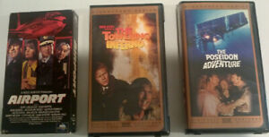 VHS Movies - Disaster/Musical/Romance - any 3 For $5.00
