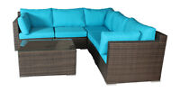 Outdoor Patio Wicker Corner Sectional Sofa ! FREE Shipping