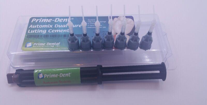 Prime-Dent Automix Dual Cure Luting Cement A2 Exp: 12/2021