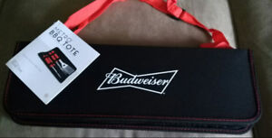 Budweiser  Barbecue Tool Tote (new)