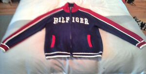 TOMMY HILFIGER Long Sleeve Full Zip Knit Sweater