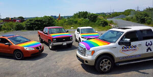 Pride Flag Hood Covers for Your Car