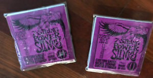 BNIP - 2-Packs 7-String Power Slinky Strings