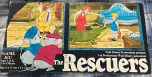 1977 Parker Brothers  Board Game, Walt Disney's The Rescuers