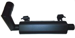 Silent Rider(Benz)Exhaust Silencer BT-570 Polaris Ranger 500(17-18)/ ETX(15-16)