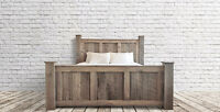 Reclaimed Post & Plank Bed