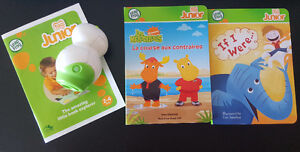 Leap frog tag junior with 2 books