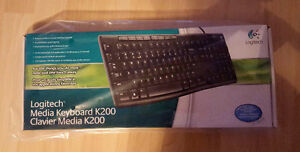 Logitech Media Keyboard K200 new and unopened