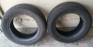 Pair of all season 195/65R15 tires