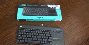 Logitech Wireless keyboard & trackpad (new)