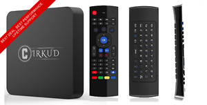 Loaded  Android TV Box with Android TV 6.1