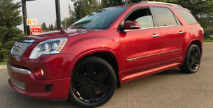 2012 GMC Acadia DENALI AWD - LEATHER/NAVI = MOVING MUST SELL!!