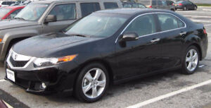 Acura TSX, 6 Speed, GPS, Back Cam, Certified with Winter Tires