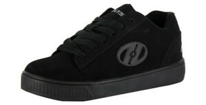 """Heelys Adult Hurricane Skate Shoe,Black/White/Gum, Size 11"