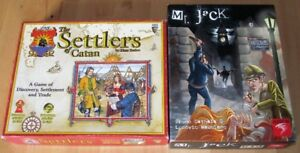 2 jeux: CATAN, Mr Jack